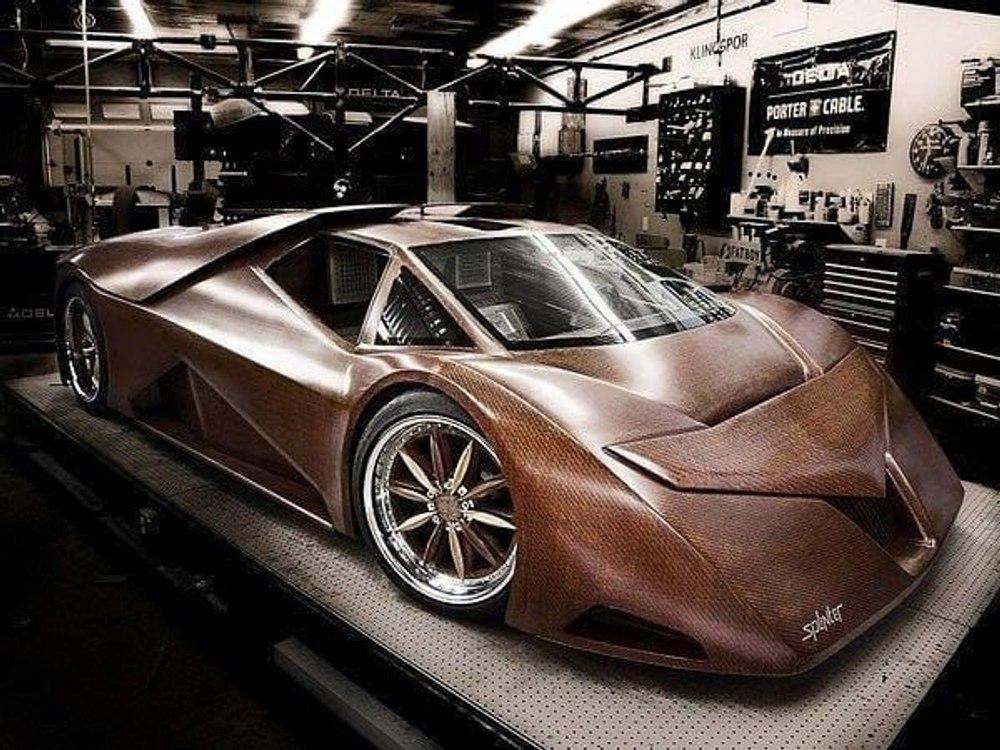 Splinter – первый в мире деревянный спортивный автомобиль