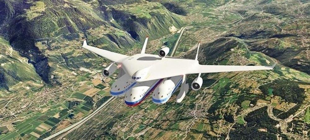 Будущее авиастроения - «гондолоплан»