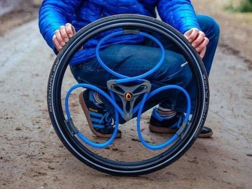 Умные колеса без спиц от британского дизайнера
