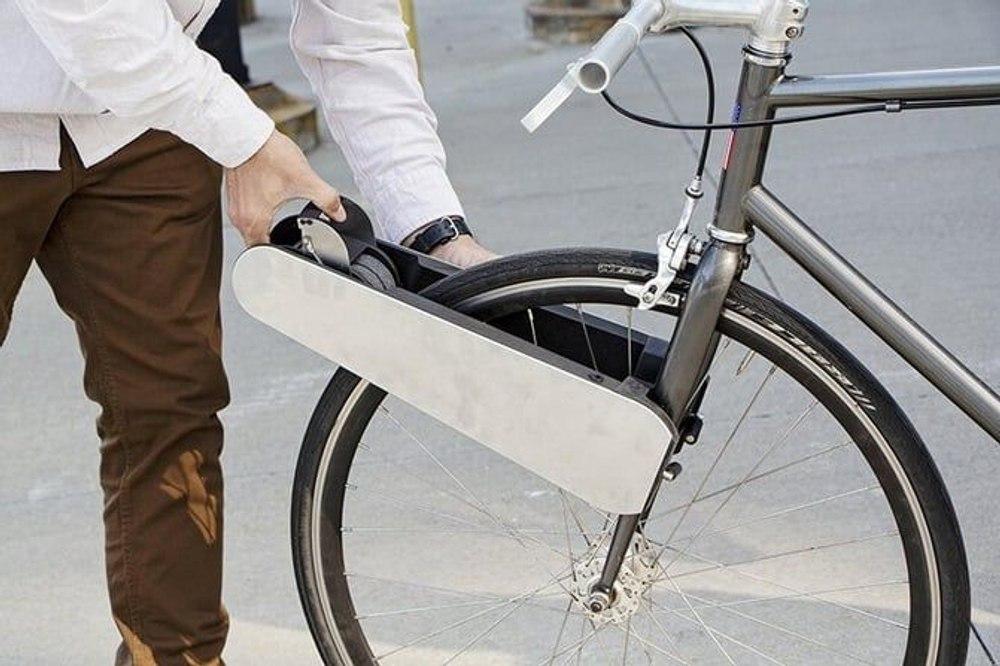 Комплект CLIP превратит любой велосипед в электрический