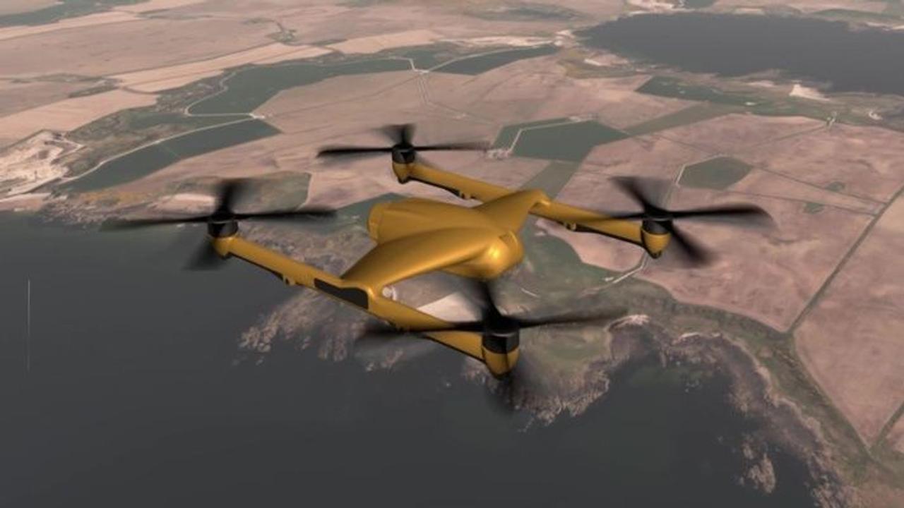 Автономный грузовой дрон, компании BAE Systems, сможет доставлять грузы массой до 300 кг