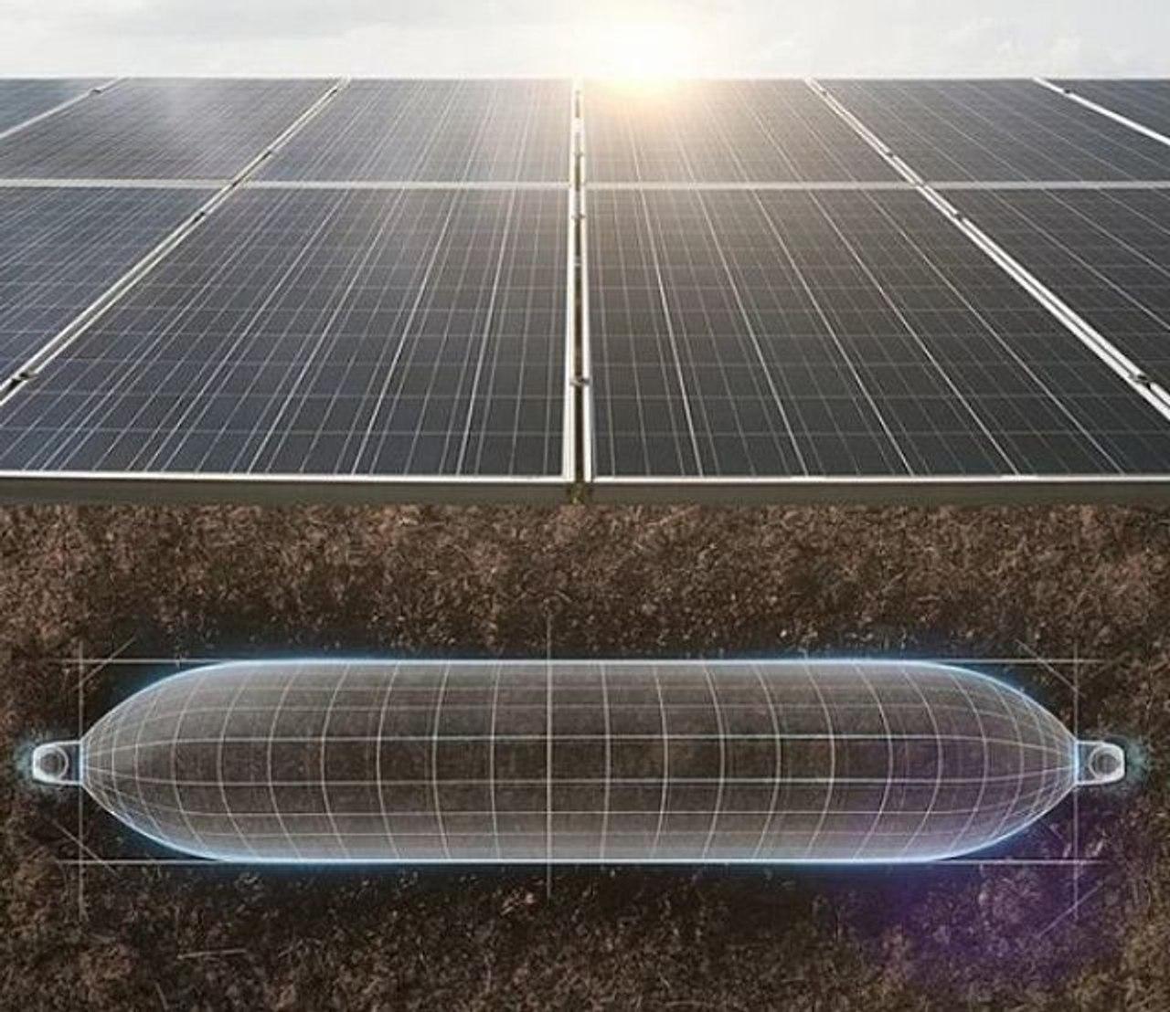 В Израиле разработали систему хранения «солнечной» электроэнергии в виде сжатого воздуха