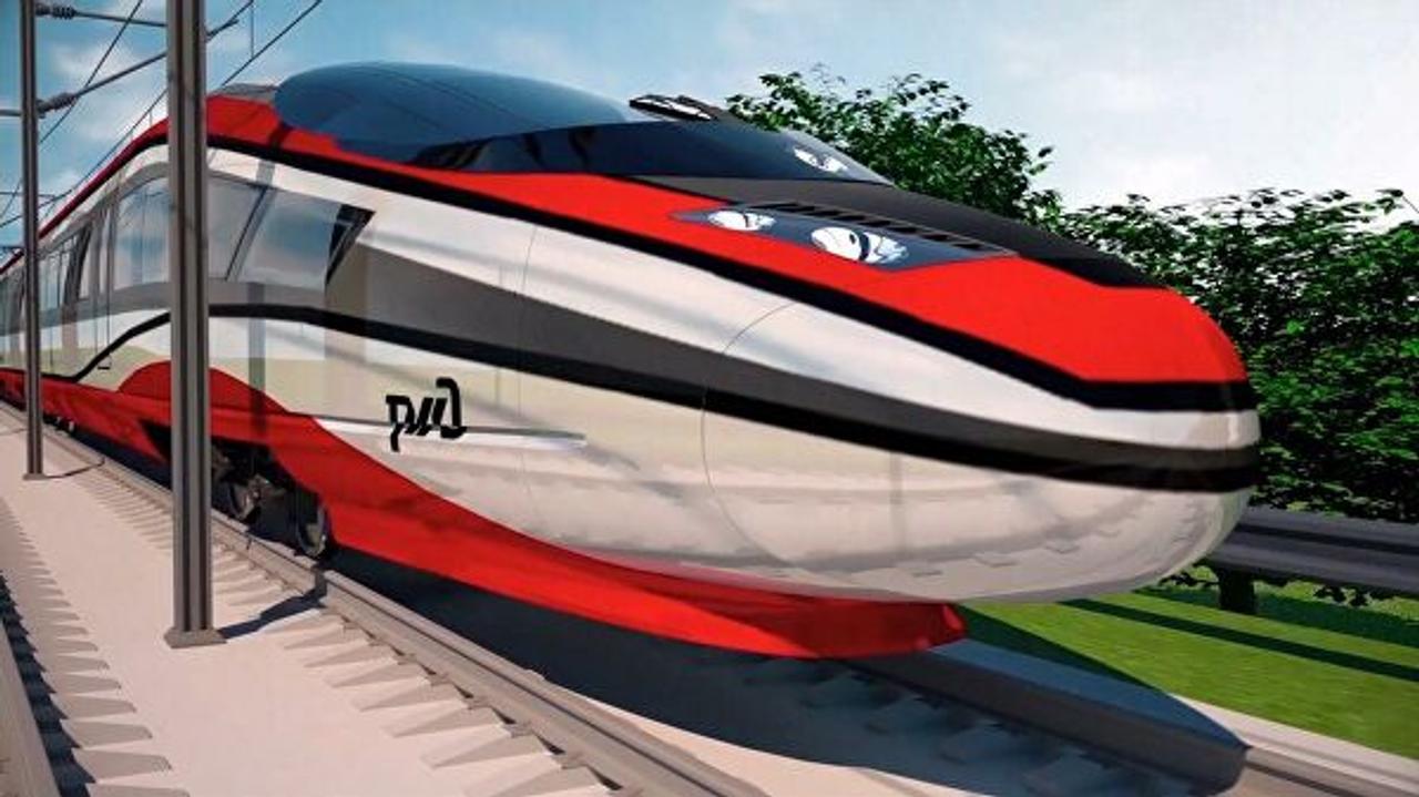 Вслед за Японией и Китаем в России начали разрабатывать высокоскоростной поезд который должен развивать скорость до 400 км/ч