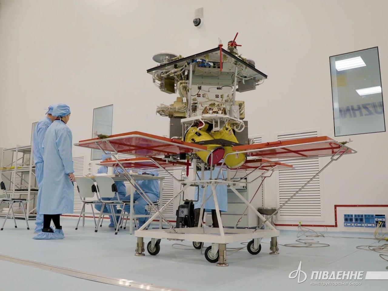 SpaceX запустит в 2021 году украинский спутник Сич 2-30 созданный в КБ «Южное»