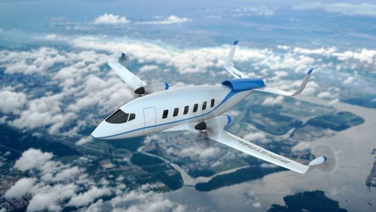 Pipistrel создал концепцию водородного самолета с нулевым уровнем выбросов на 19 пассажиров