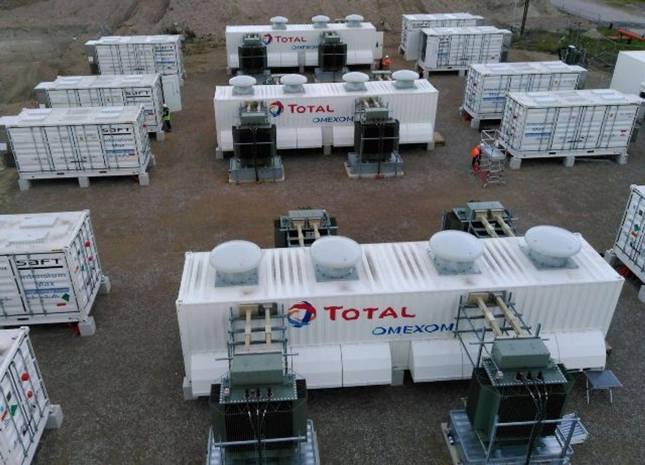 Вместо нефтеперерабатывающего завода, во Франции, запустили крупнейшую систему аккумулирования энергии