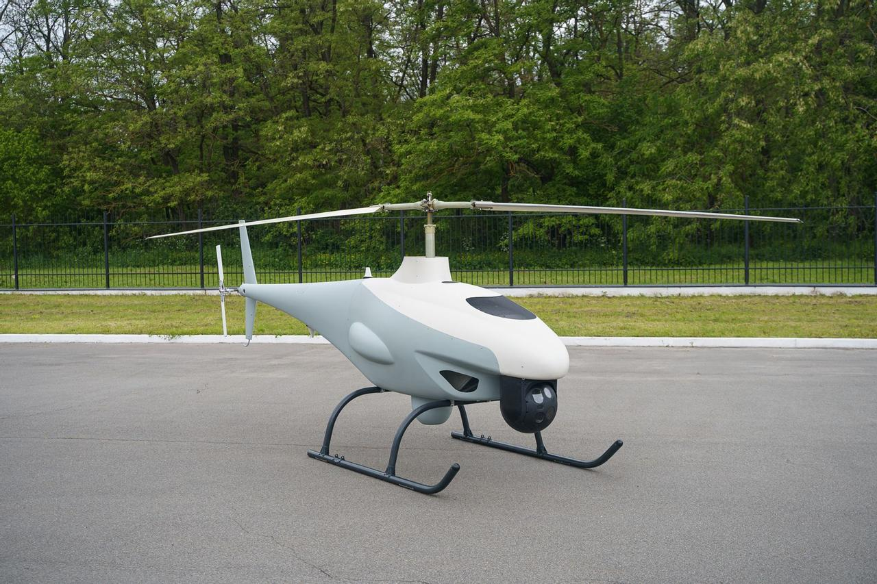 В Украине создали ударный беспилотный вертолет для выполнения боевых задач. Что он может?