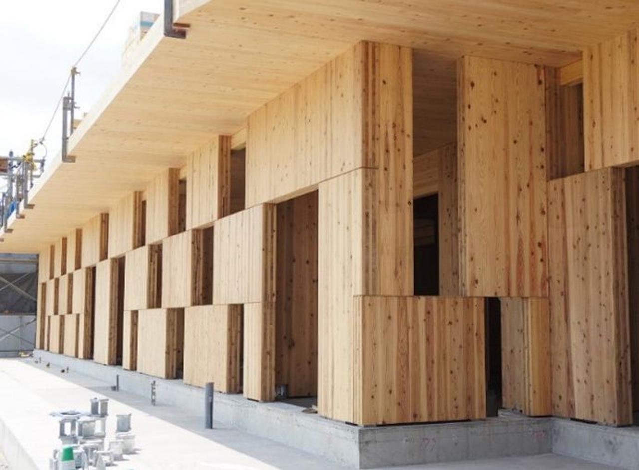 Японские инженеры строят сейсмостойкие здания из «клетчатых блоков»