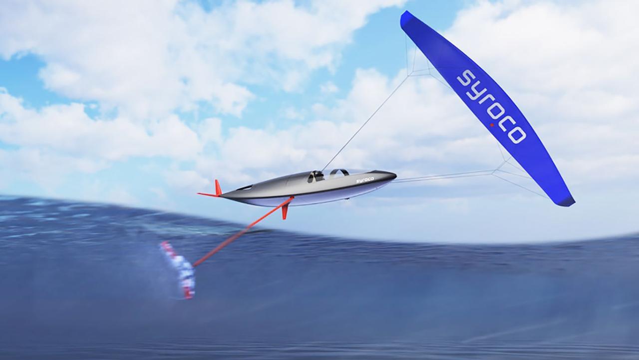 Самая быстрая парусная лодка в мире, стремится разогнаться до 150 километров в час