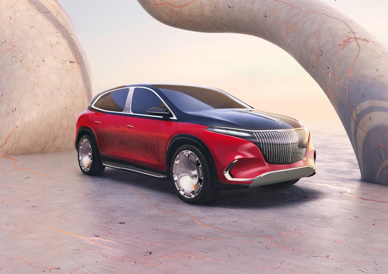 Mercedes-Benz представил шикарный электрический внедорожник Maybach