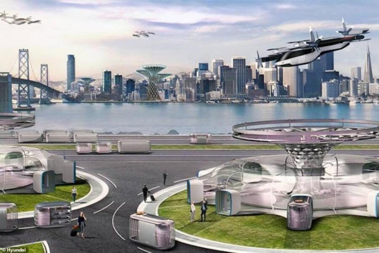 Британский стартап Urban-Air Port и Hyundai стремятся быстрее построить более 200 вертипортов для eVTOL
