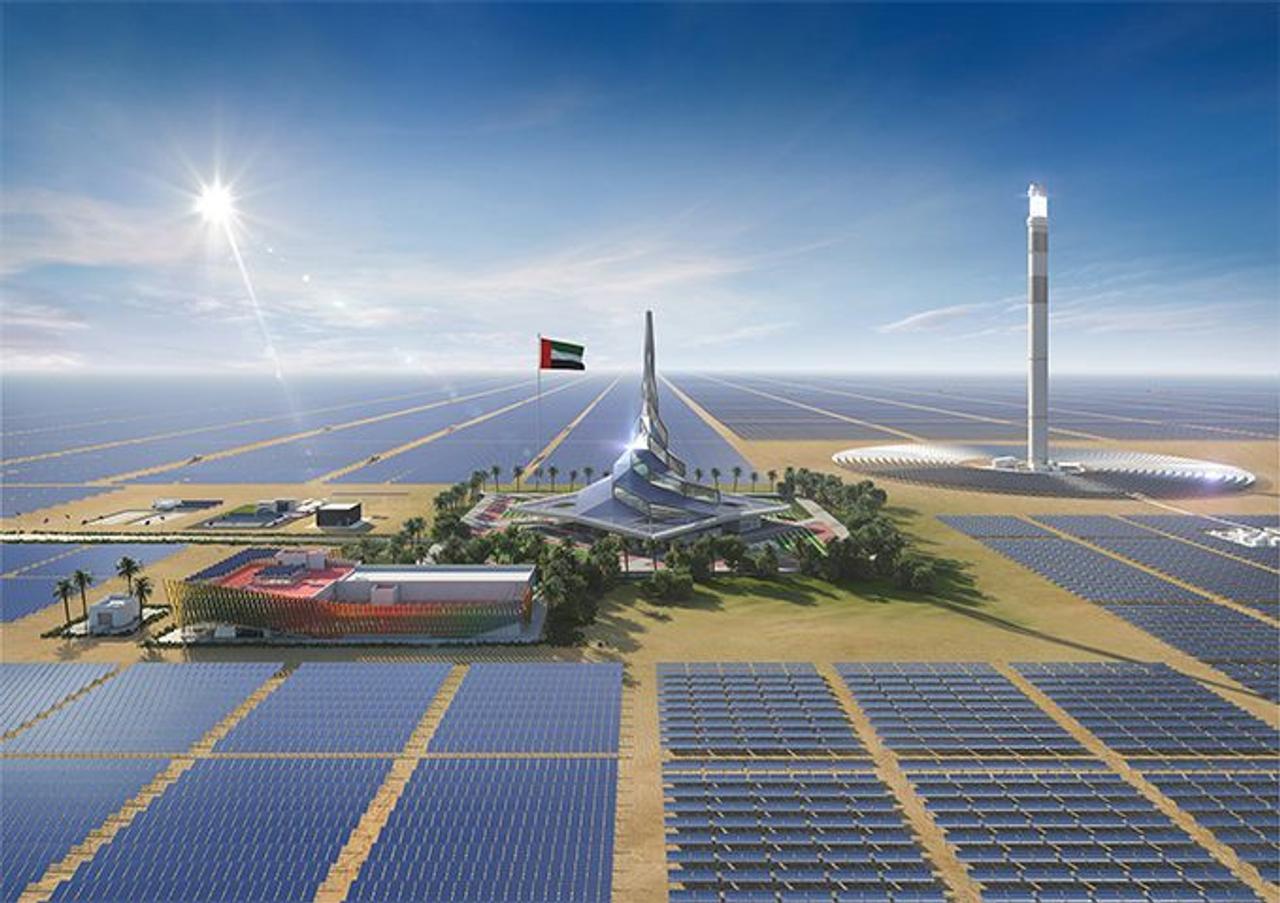 Солнечный парк в Дубае - крупнейший в мире проект, способствующий устойчивому развитию в ОАЭ