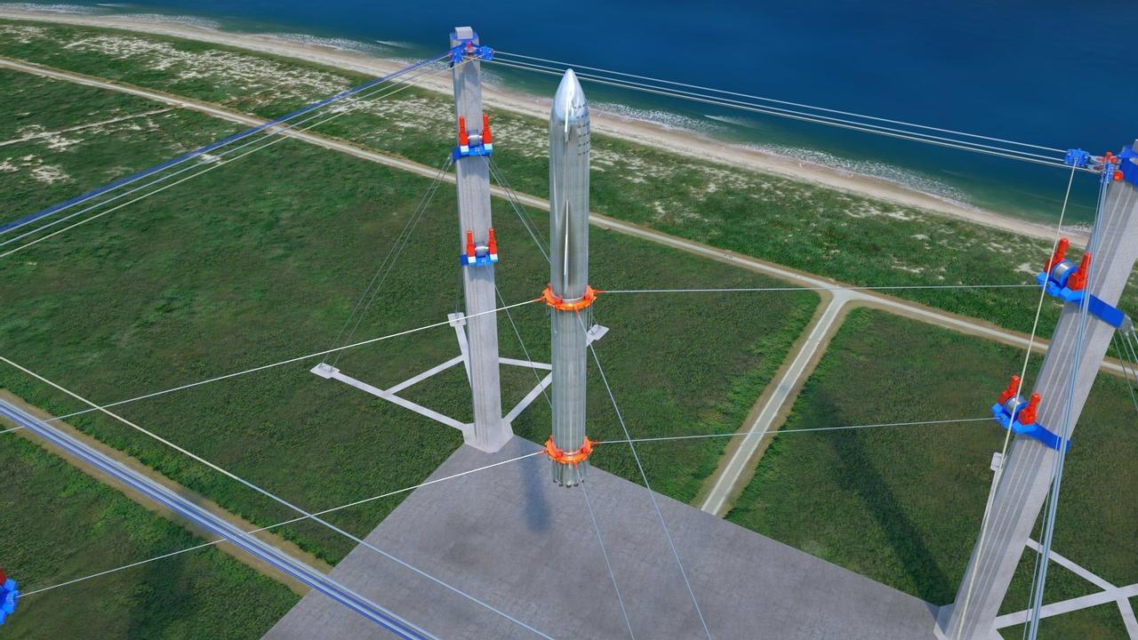 Станция обеспечения «мягкой посадки» космических кораблей от российского изобретателя Дахира Семенова