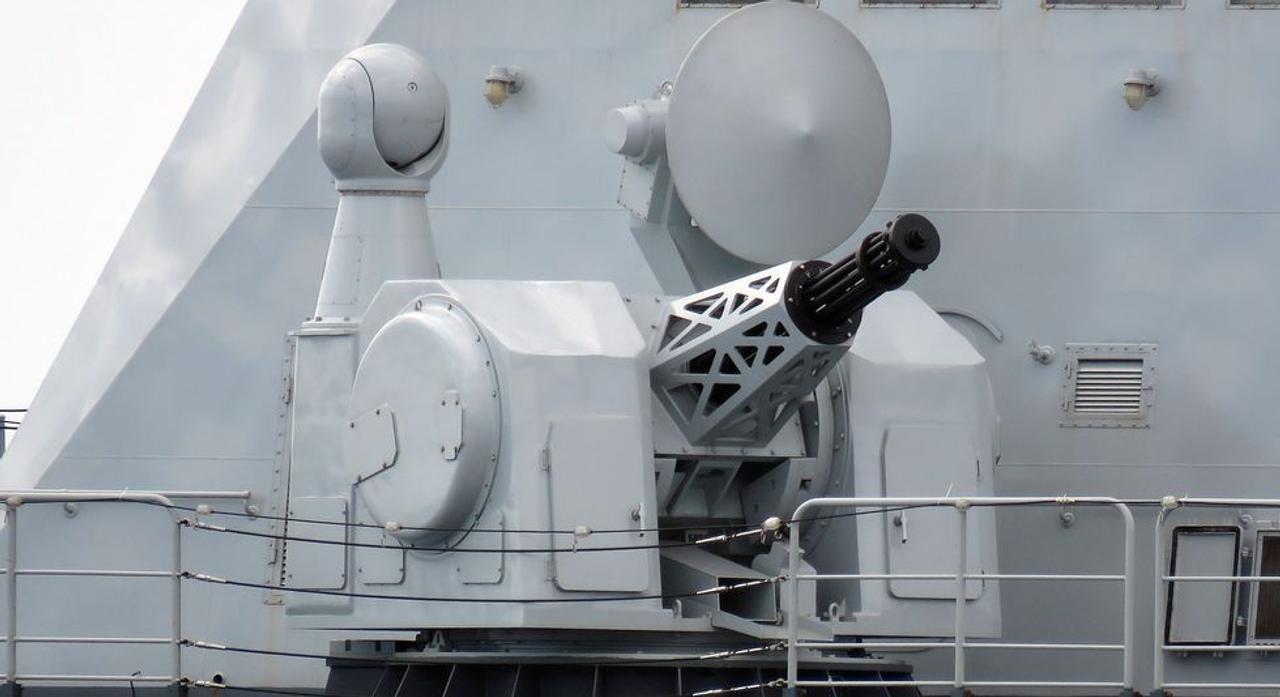 Китайские инженеры создали 20-ствольный пулемет Гатлинга