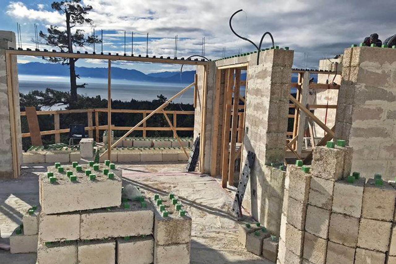 Дома из «конопляных кирпичей» экологичны и требуют в три раза меньше тепла для обогрева жилища, чем дома из бетона