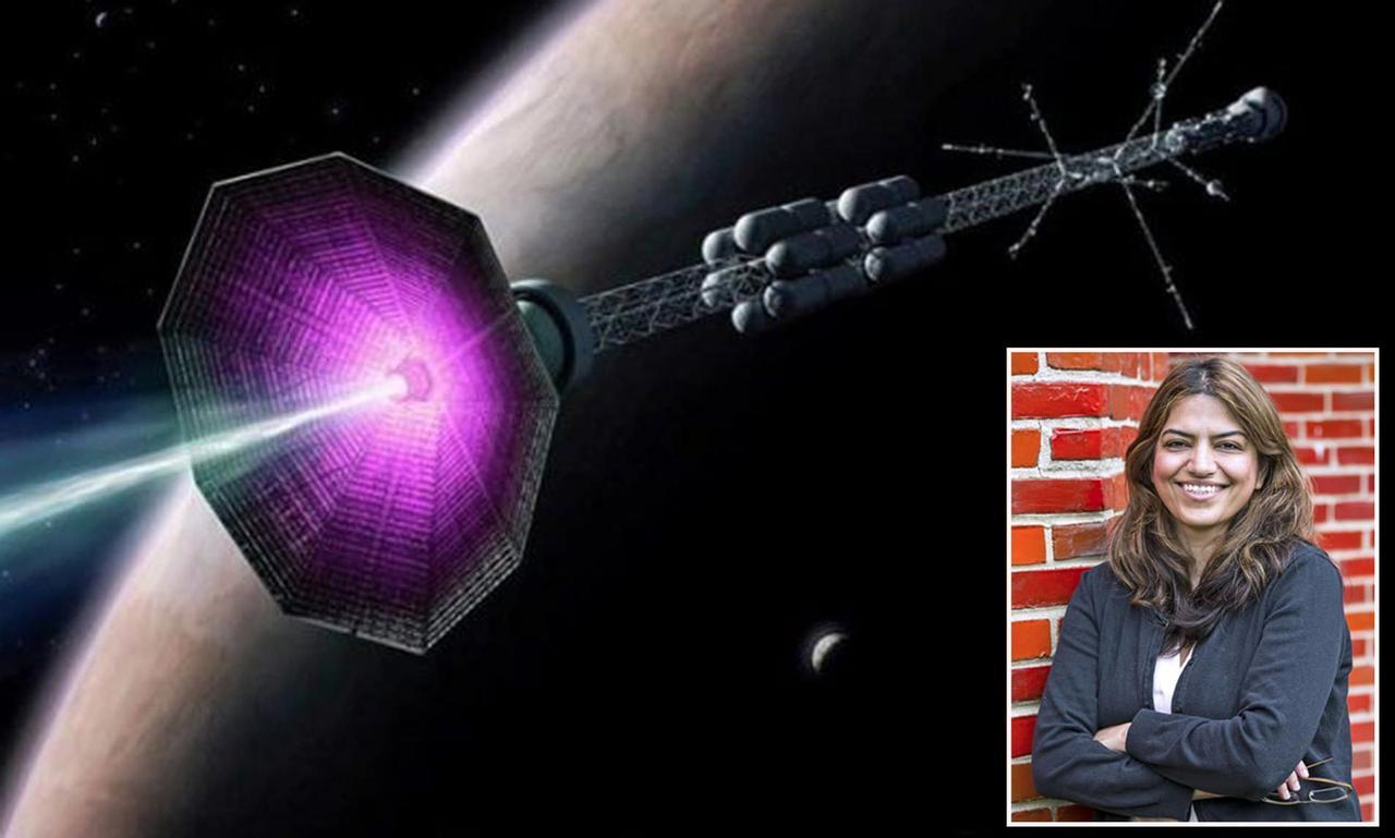 Физик Фатима Ибрагими разработала термоядерный двигатель, который разгонит космический корабль до скорости 1,8 миллиона км \ час