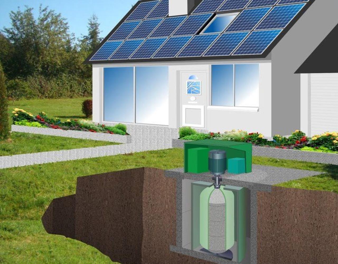 Французский стартап разработал бетонный маховик для хранения солнечной энергии