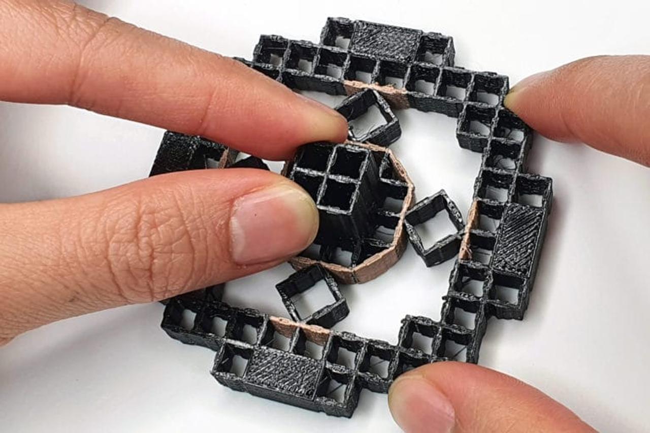 Инженеры создают объекты, напечатанные на 3D-принтере, которые могут распознавать действия пользователя