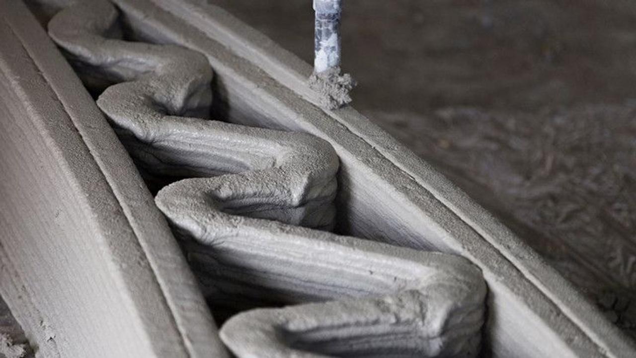 Создание бетонных конструкций с помощью 3D-печати, ускорит процесс строительства и сократит выбросы CO2 на 50%