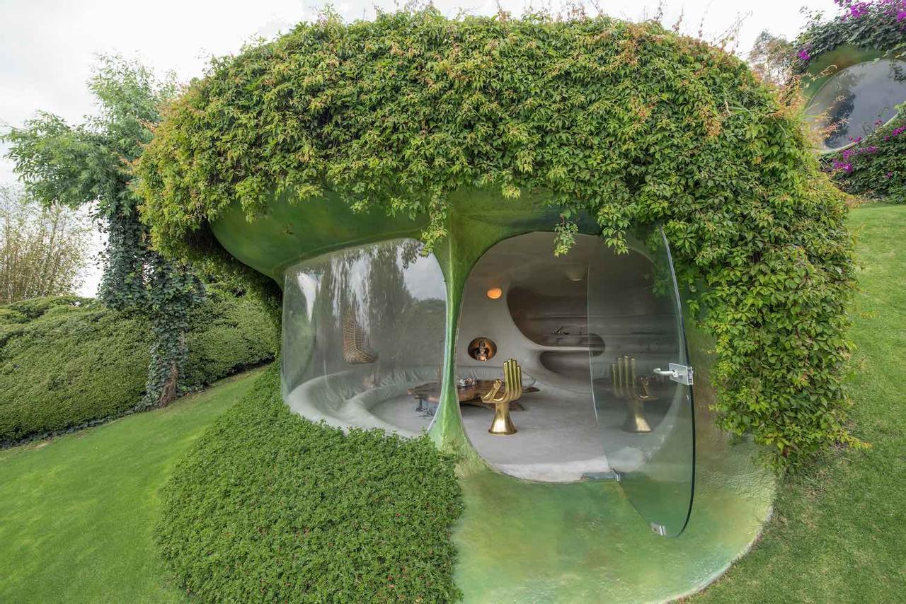 Отель Organic House от архитектора Хавьера Сеносиаина, задуман и взят из арахисовой скорлупы
