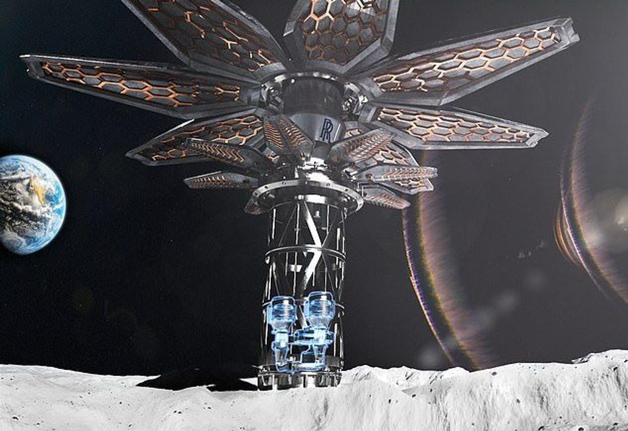 Rolls-Royce разрабатывает микроядерный реактор для космических ракет и добычи полезных ископаемых на Луне и Марсе