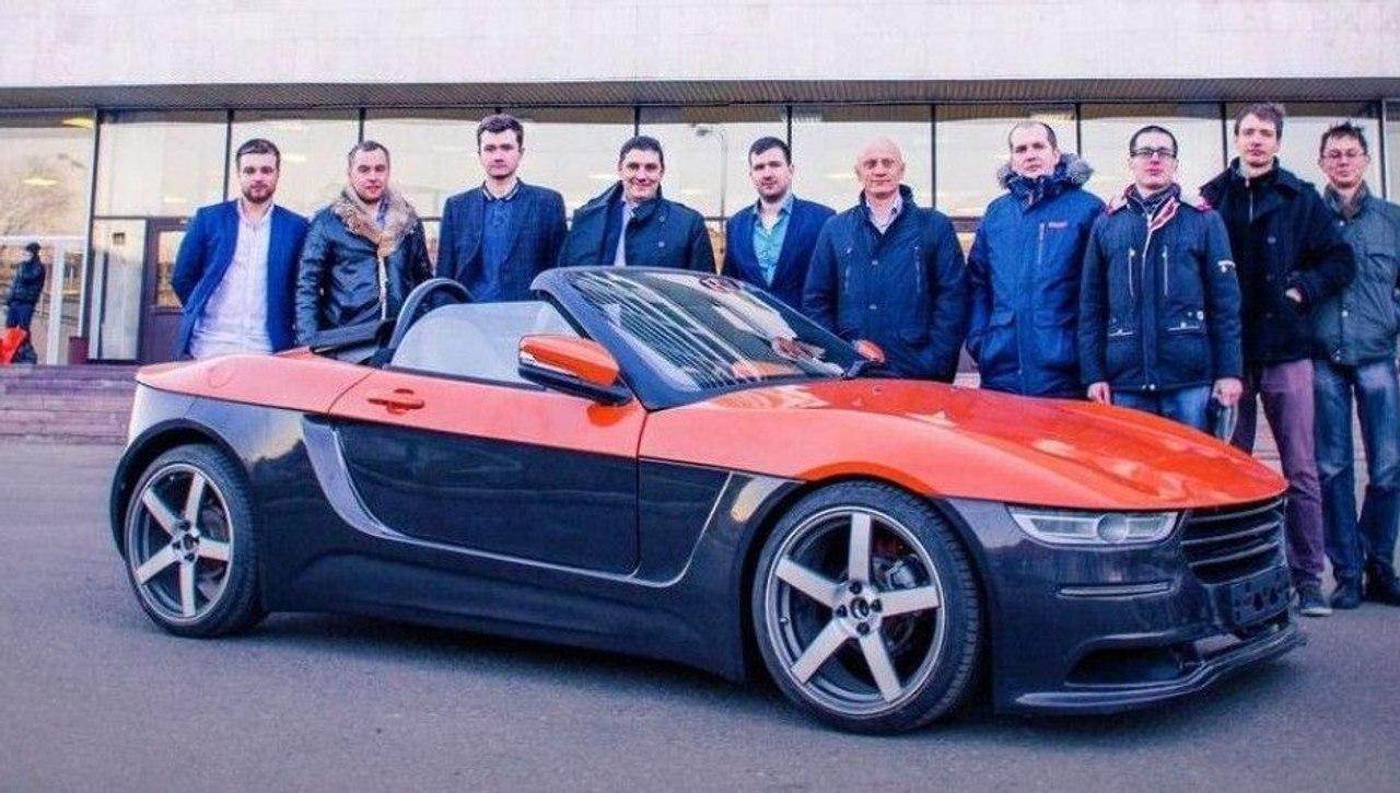 Студенты МГТУ им. Н.Э Баумана создали родстер «КРЫМ» и испытали его на российских дорогах