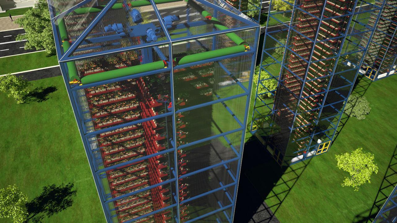 Урожай круглый год - «Автоматизированная многоярусная оранжерея конвейерного типа»