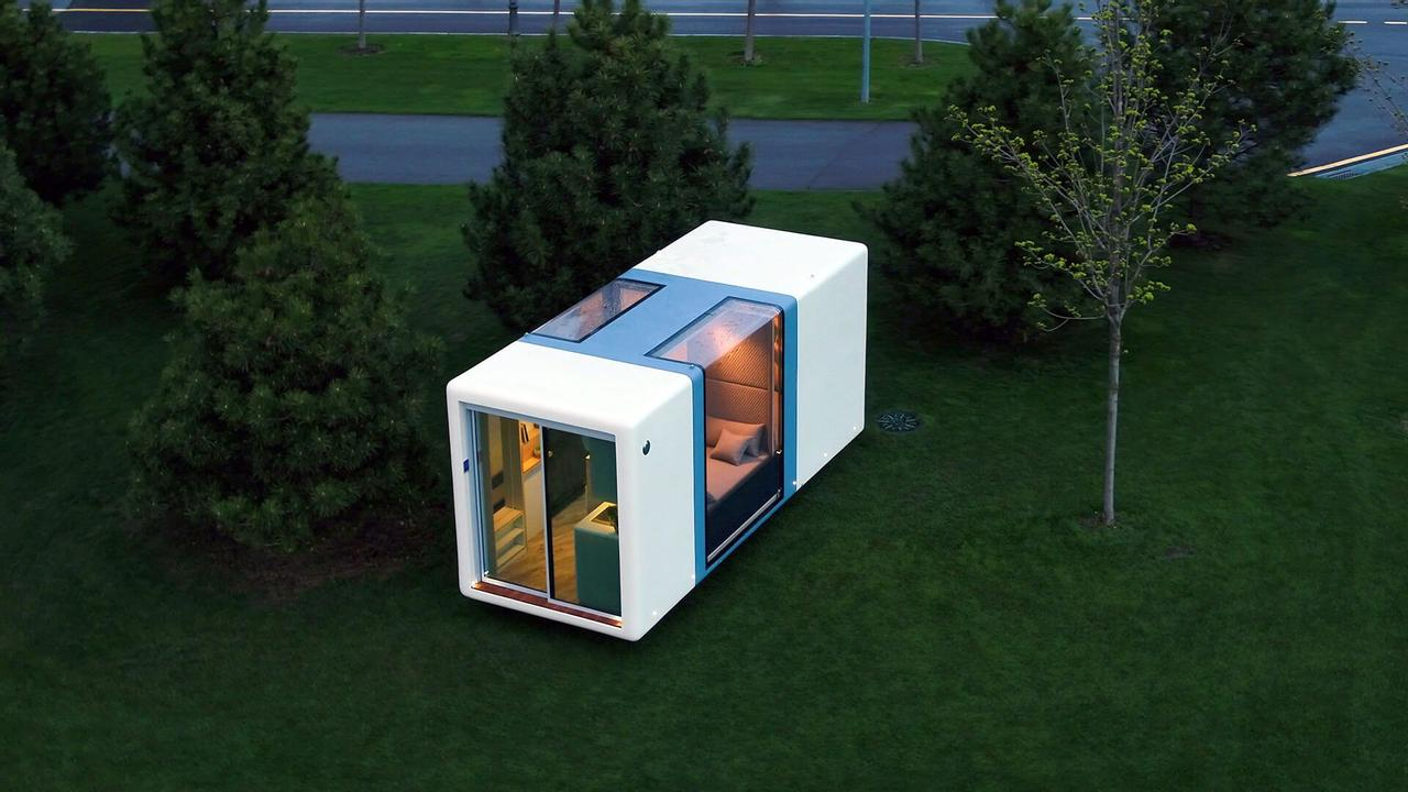 Компания Haus.me не перестает удивлять! В продажу запущен новый высокотехнологичный микродом в двух версиях