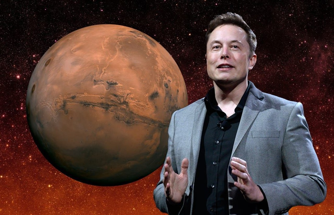 Илон Маск объявил будущую колонию на Марсе свободной от земных законов