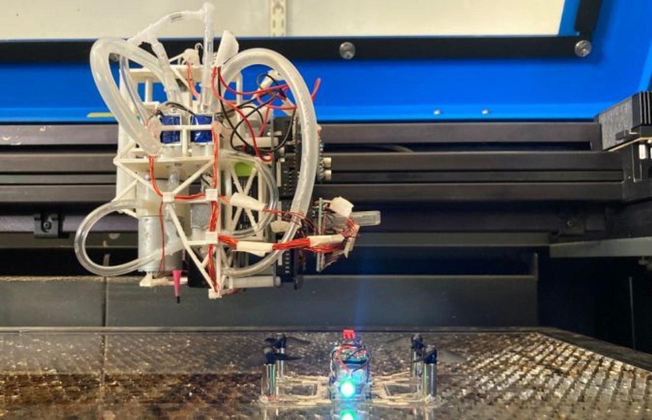 Исследователи MIT создали систему, которая сама печатает функциональных дронов и роботов
