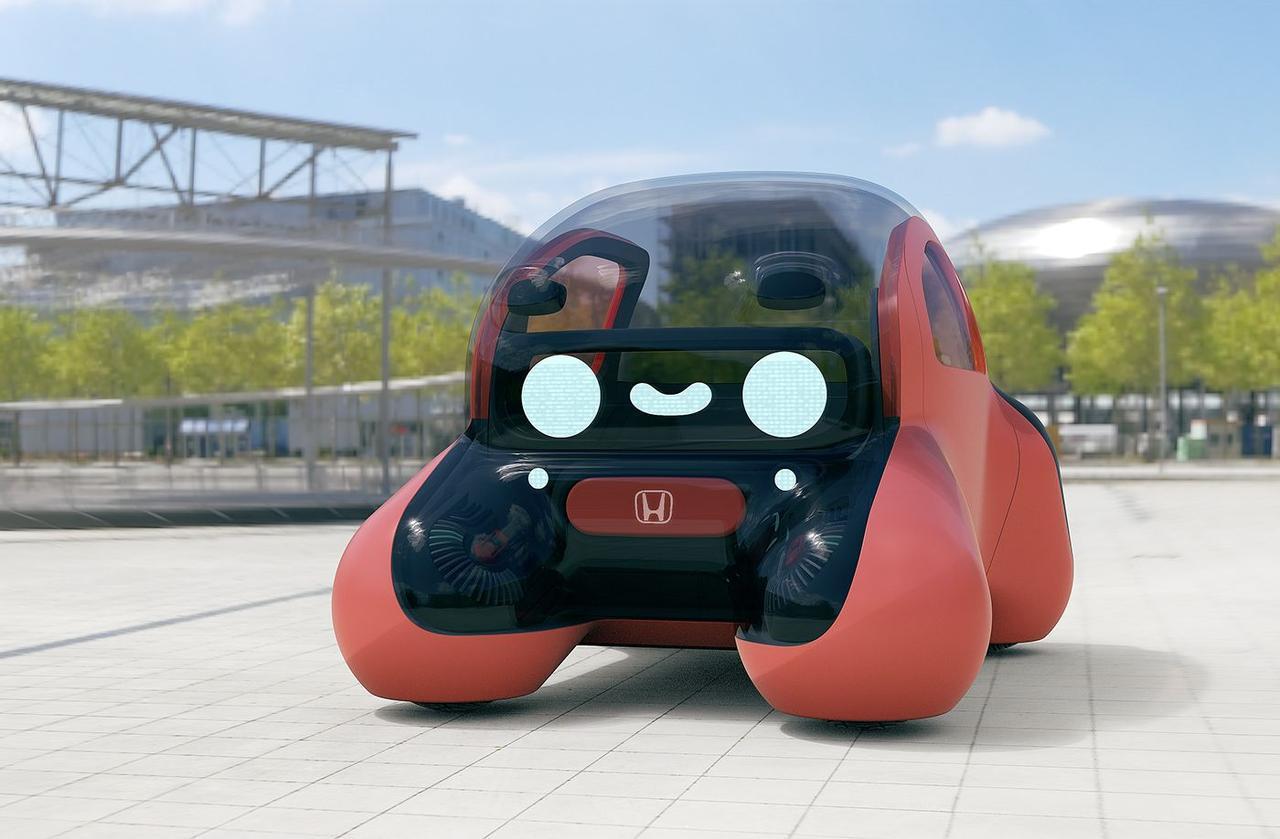 Концепт Honda 2040 NIKO автономный автомобиль - бот с помощник AI
