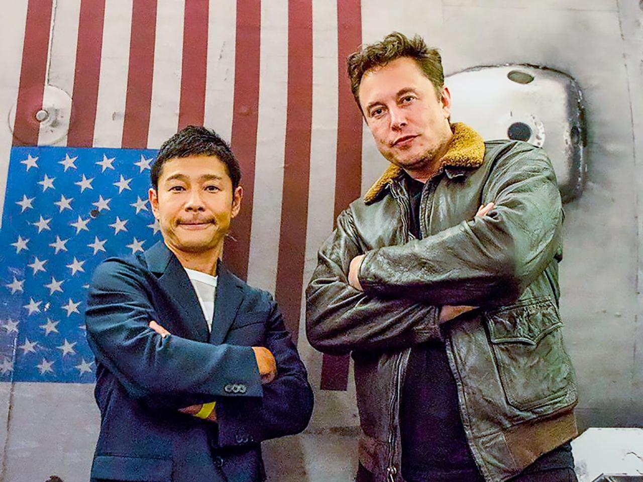 Миллиардер Юсаку Маэдзава начинает проект dearMoon по отбору людей для первой частной Лунной миссии