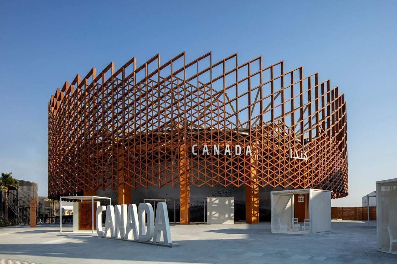 Канадский павильон на выставке Expo 2020 Dubai акцентирует внимание на мировых экологических проблемах