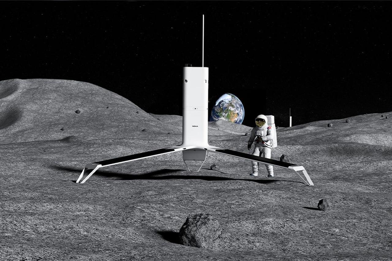 Nokia создает систему связи Luna Net для использования на Луне
