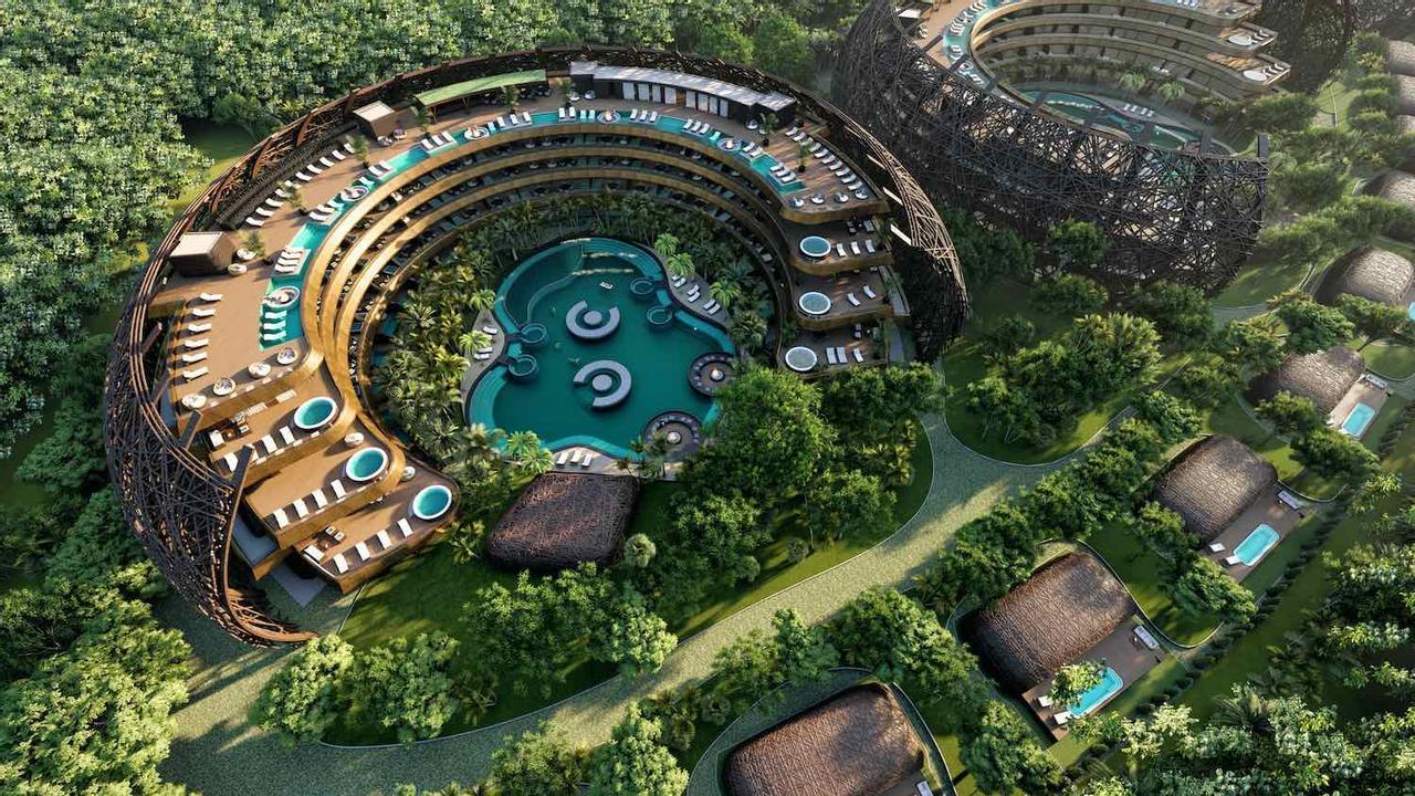 Архитекторы представили проект «Cocoon», где люди будут чувствствовать себя защищенными