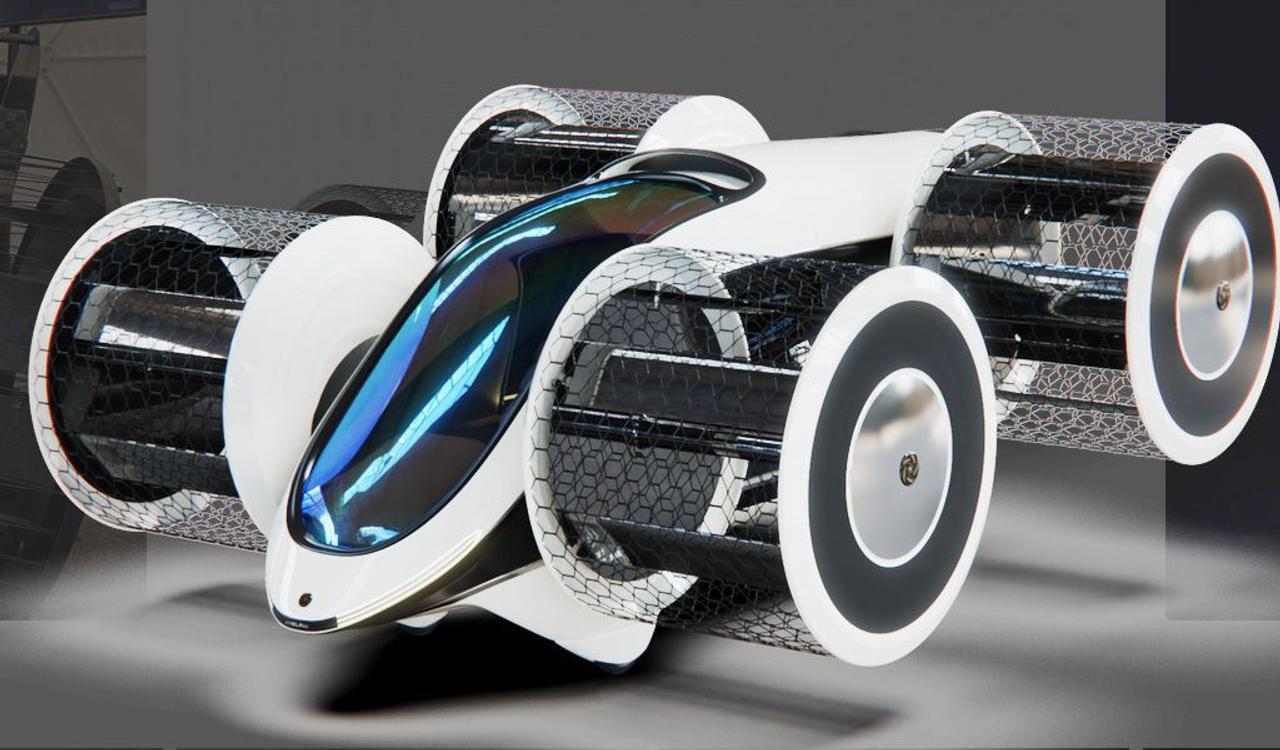 В России создают инновационный автономный летающий автомобиль «Циклокар»