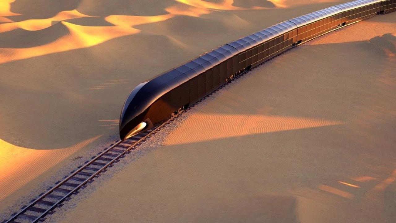 G Train - высокотехнологичный, полностью стеклянный, умный поезд для роскошных путешествий
