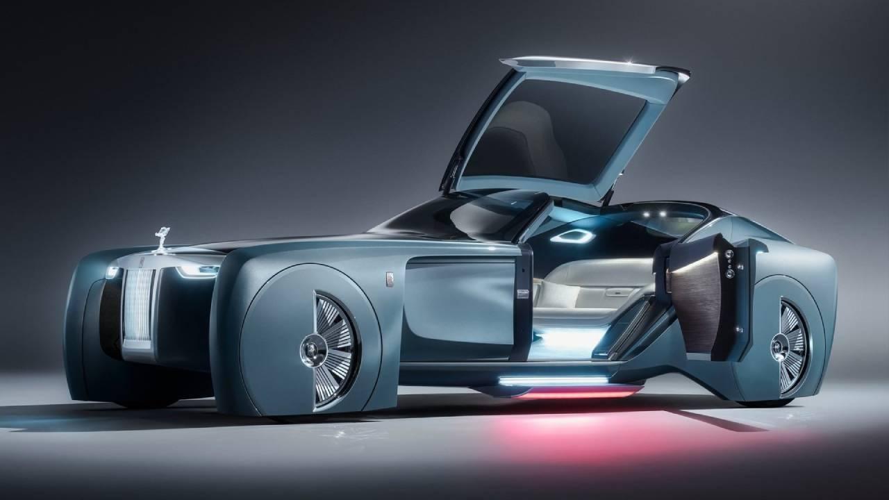Rolls-Royce создает роскошный электромобиль Silent Shadow
