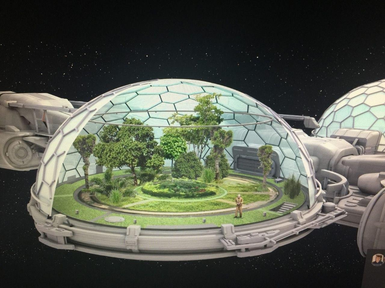 Уникальный дом - геодезический купол из стекла и металла