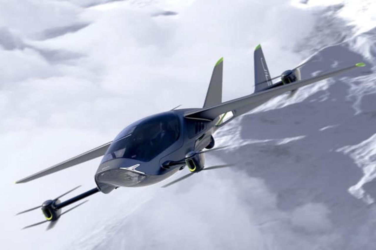 AIR ONE - двухместный летающий автомобиль eVTOL для частного использования