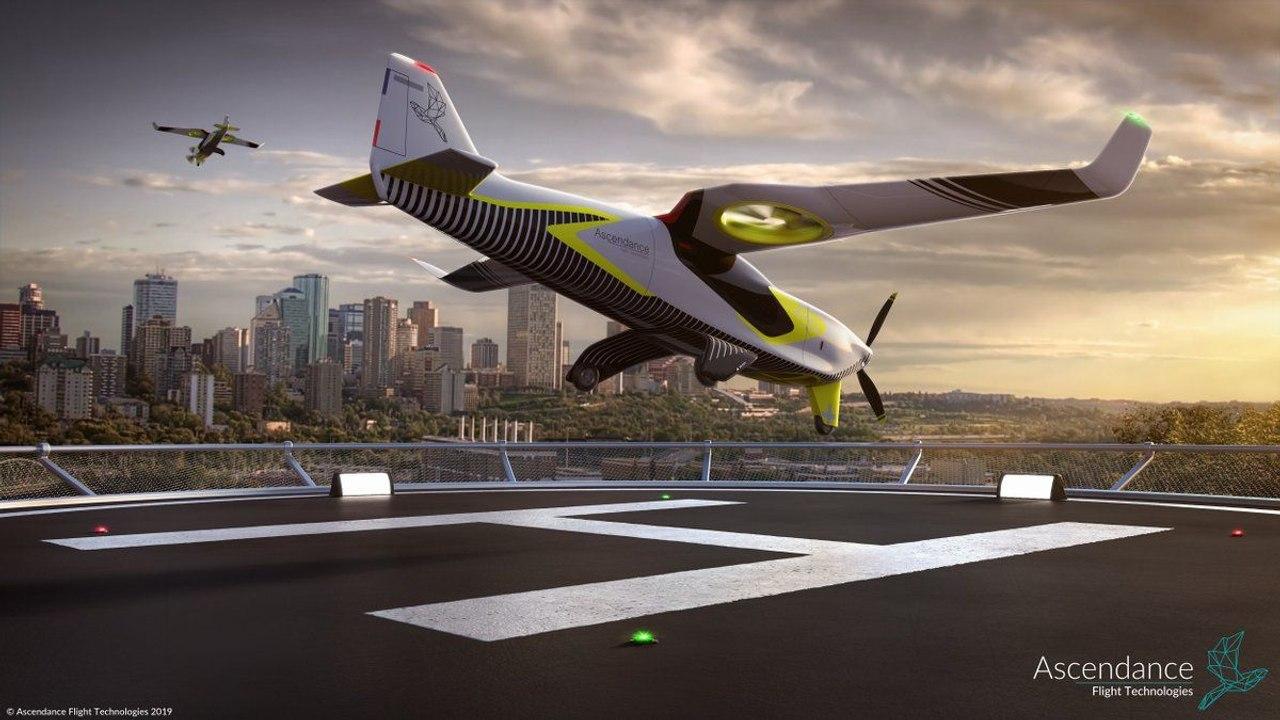 Бывшие сотрудники Airbus разрабатывают новое дальнобойное гибридное воздушное такси Atea
