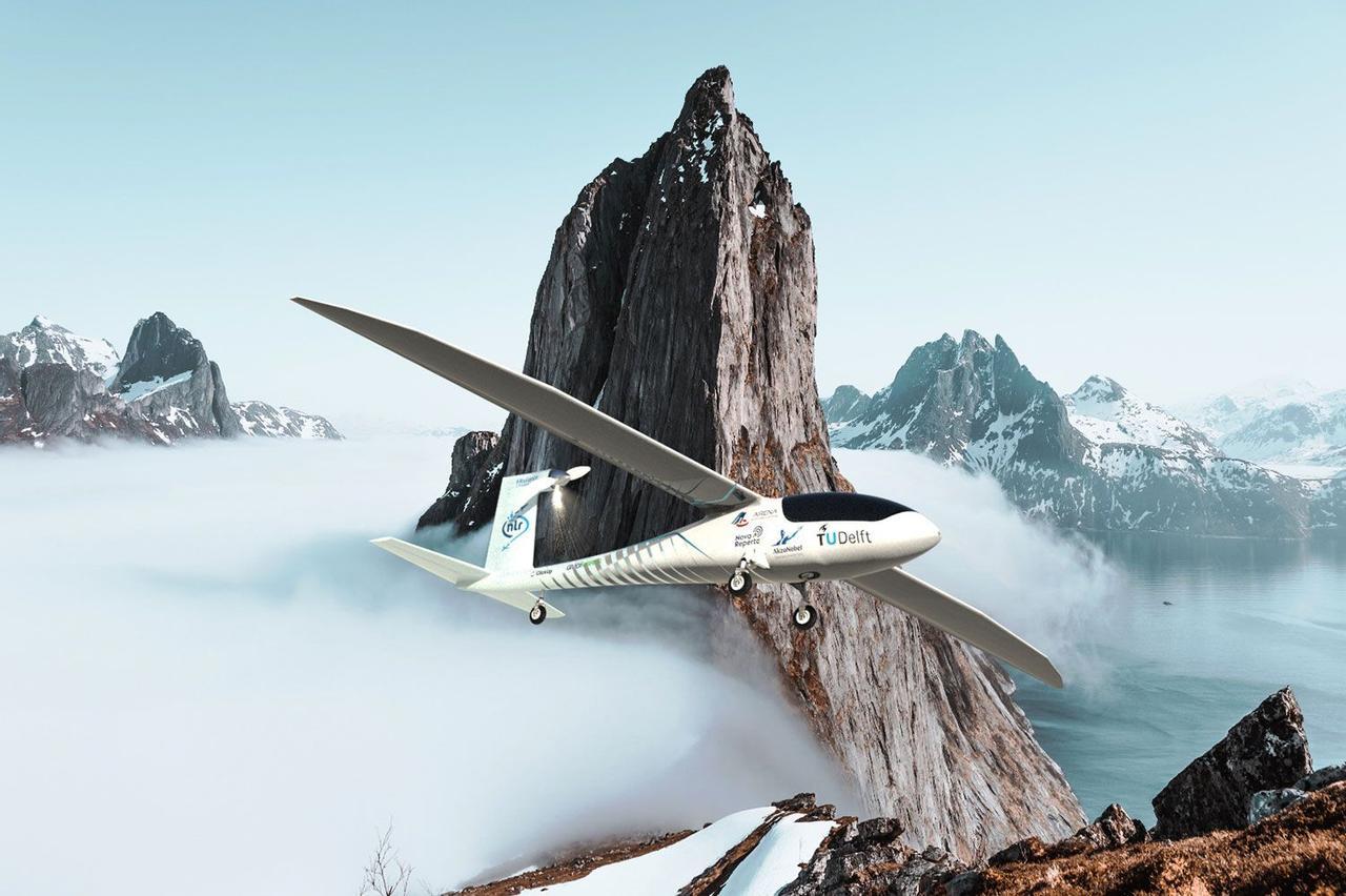 Самолет Phoenix станет первой в мире моделью работающей на жидком водороде