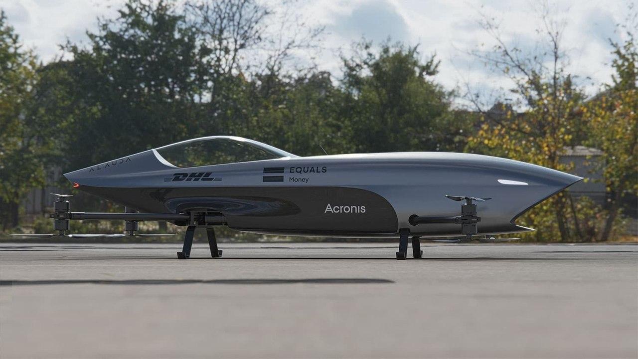 Первый в мире электрический летающий гоночный автомобиль Airspeeder Mk3 готов к гонкам