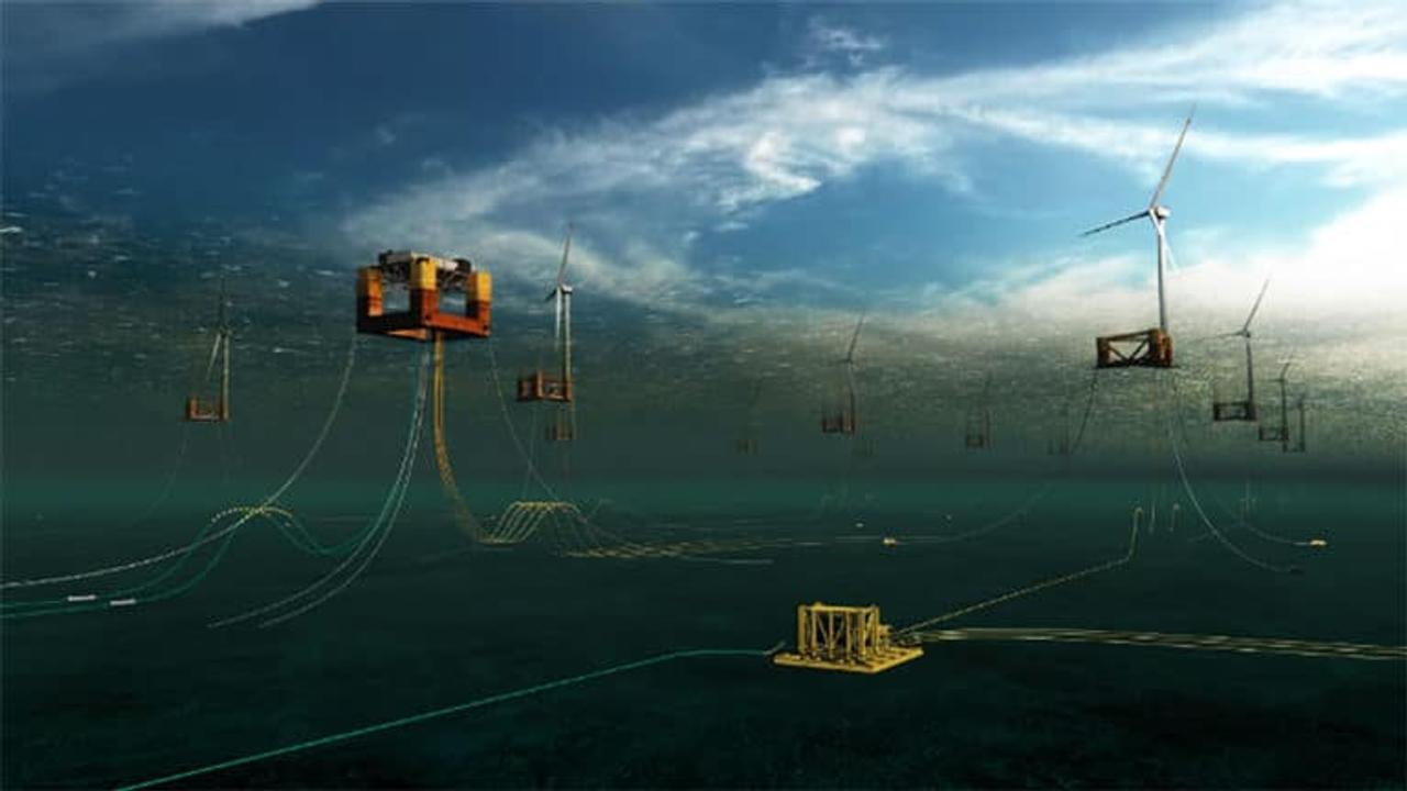 В Шотландии построят первую морскую ветряную подводную подстанцию для снабжения энергией миллионы домов