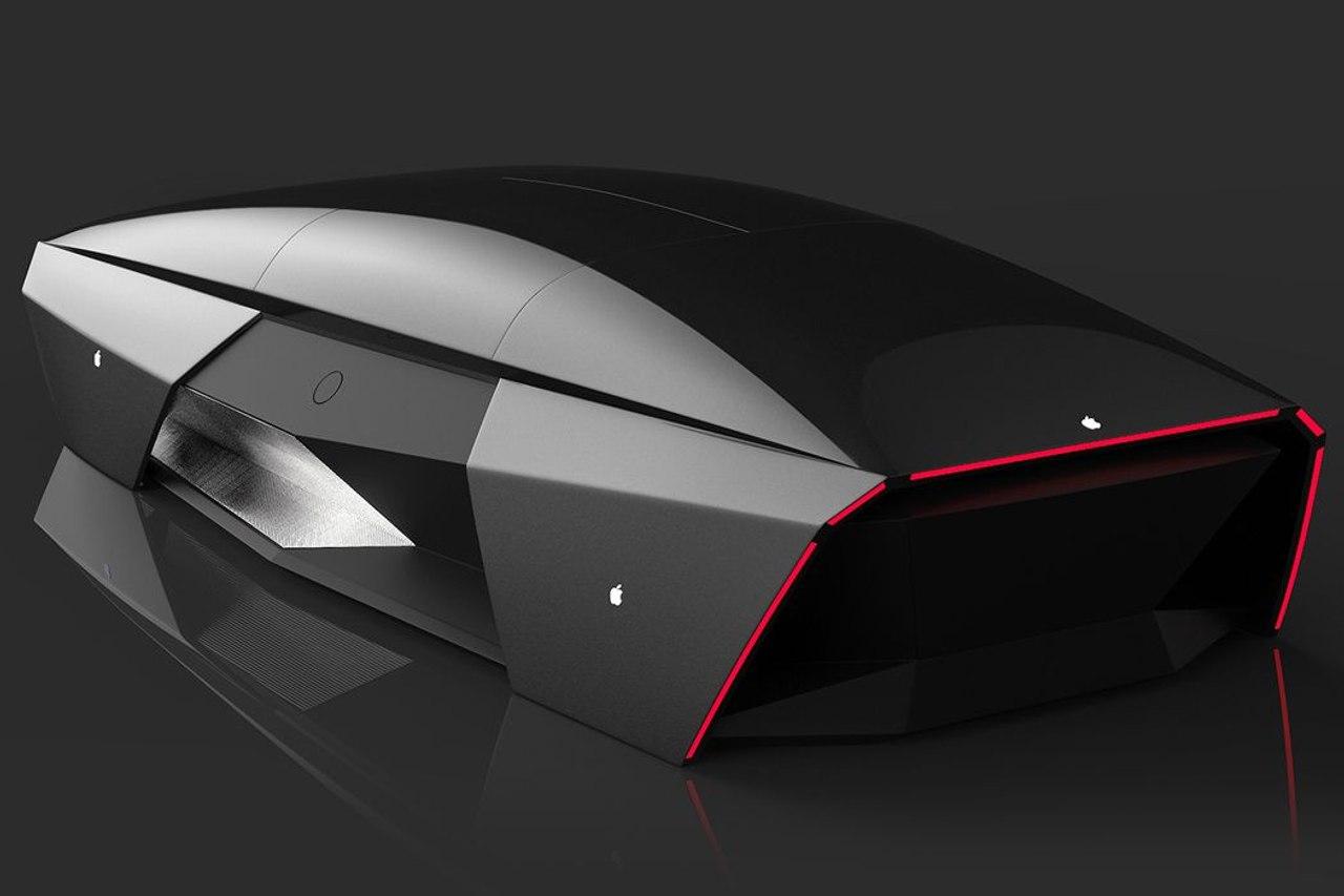 Концепт электромобиля Apple Car 2076 от дизайнера Али Кэма станет конкурентом Tesla Cybertruck
