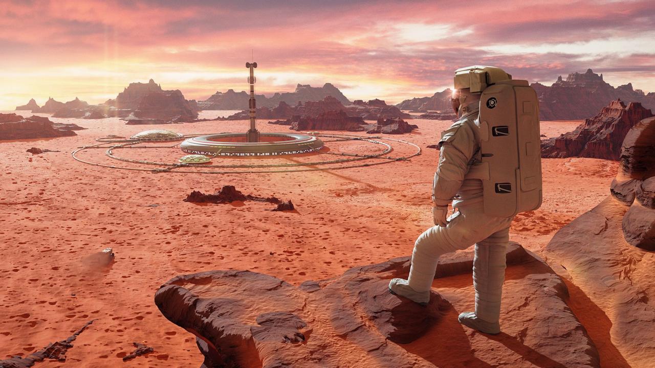 «Космический бетон» будут делать из марсианского грунта и крови космонавтов