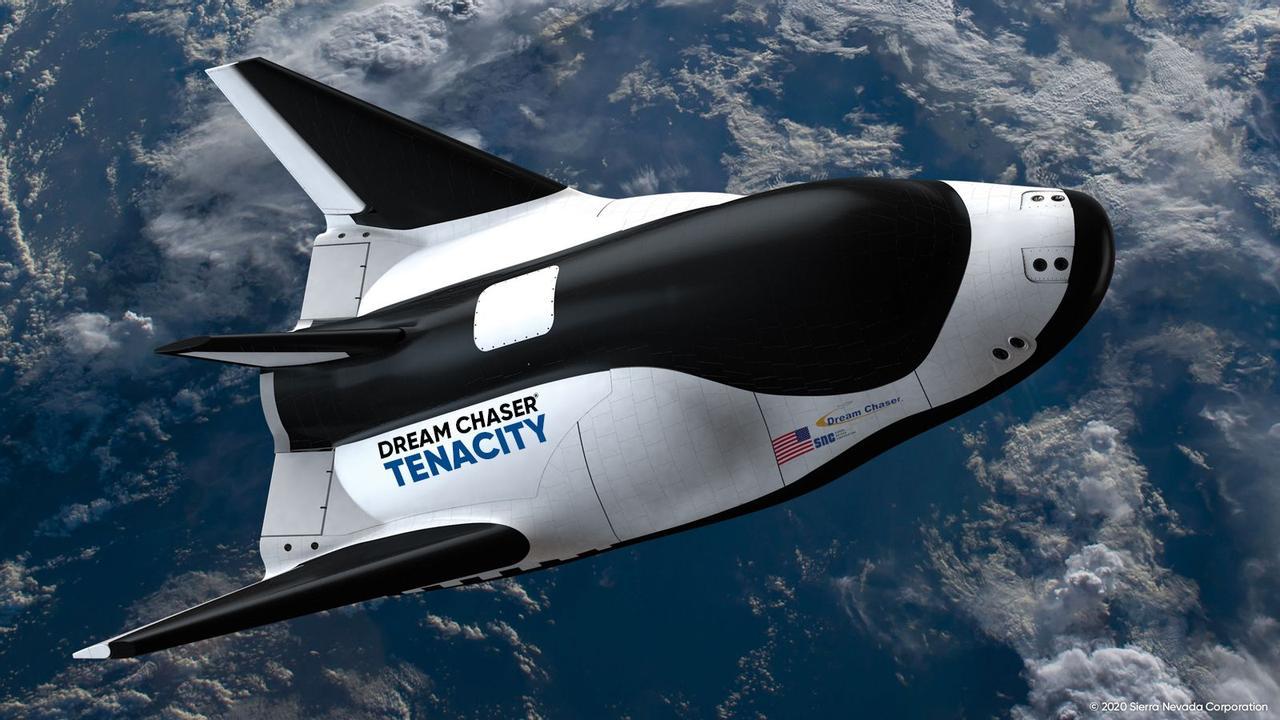 Dream Chaser - первый многоразовый, автономный шатл для доставки людей и грузов на МКС