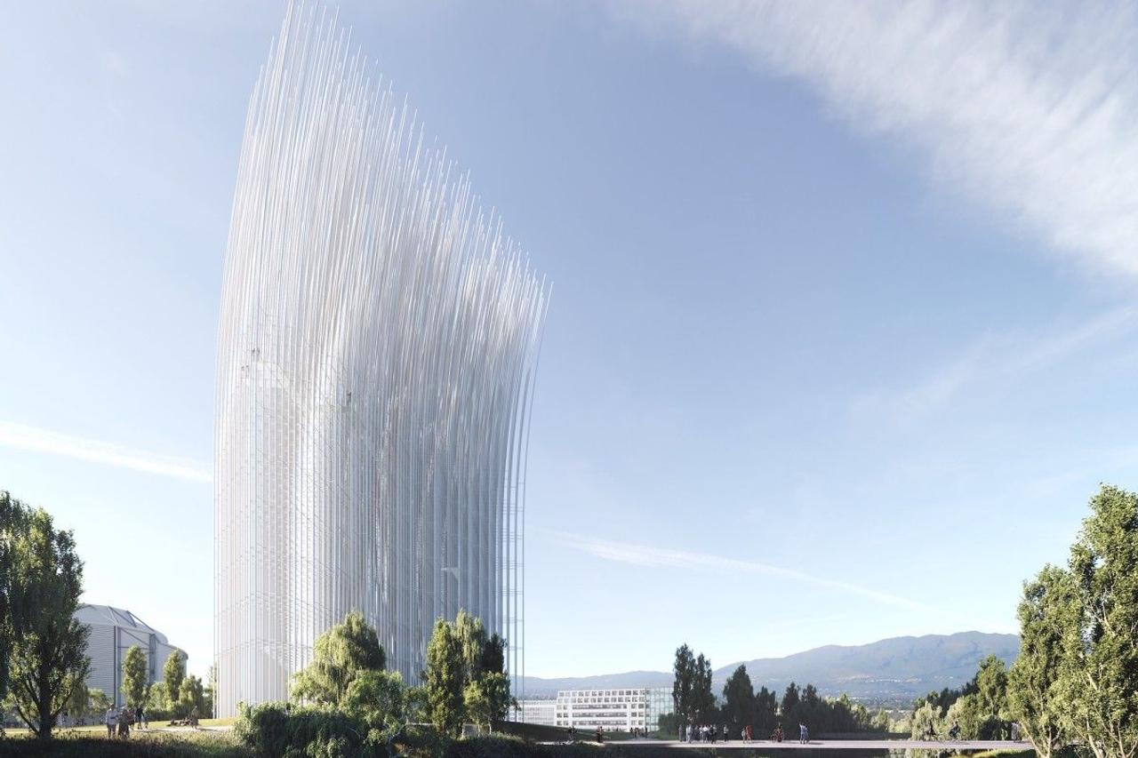 Необычная башня ловит ветер, чтобы осветить Кремниевую долину