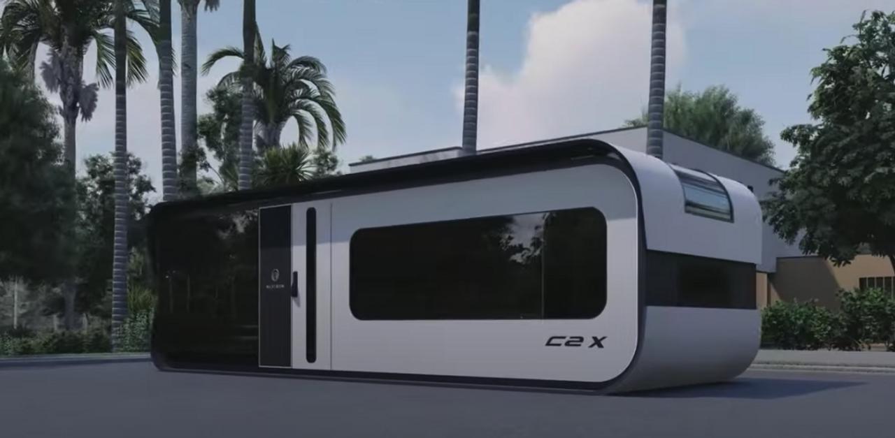 Модульный умный дом Nestron Cube становится панорамным