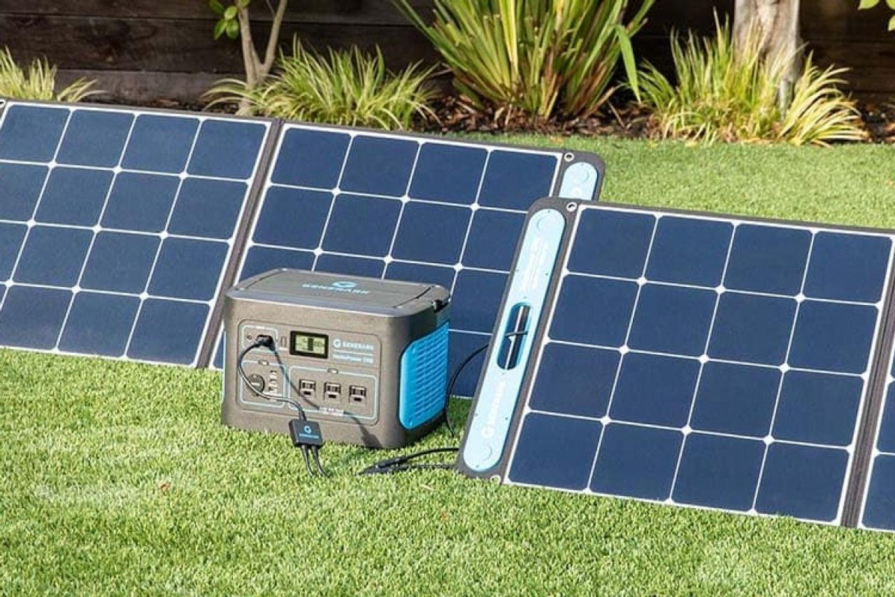 Портативный солнечный генератор Generark обеспечит электроэнергией в чрезвычайных ситуациях